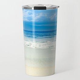 Beach Blue Kapalua Golden Sand Maui Hawaii Travel Mug