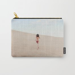 Carissima Hedy - Sandy Dune Nude Carry-All Pouch