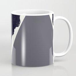 Contemporary Minimalistic Black and White Art Coffee Mug