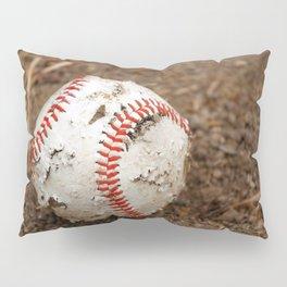 Old Baseball Pillow Sham