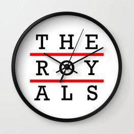 The Royals  Wall Clock