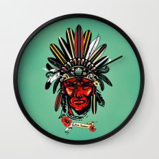 THE INDIAN SUMMER Wall Clock