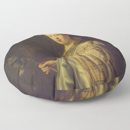"Rembrandt Harmenszoon van Rijn, ""Saskia as Flora"", 1635 Floor Pillow"