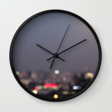 Beijing at Night Wall Clock