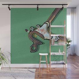 Spacehorse Wall Mural