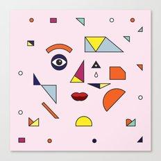 Face Modern (no.2) Canvas Print