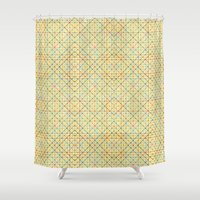 geometry Shower Curtains featuring Geometry by Goncalo Viana