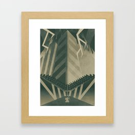 The Concrete Jungle Framed Art Print