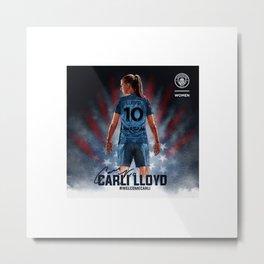 Carli Lloyd Metal Print