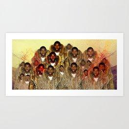 Moncler's Magical Johnson Art Print
