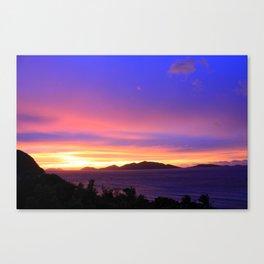 Tortola Sunset Canvas Print