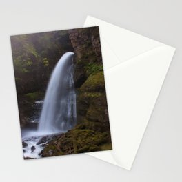 Middle Sholes Creek Falls Stationery Cards