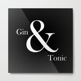 Gin & Tonic #2 Metal Print