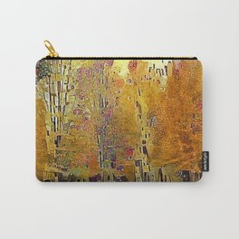 Klimt Trees Carry-All Pouch