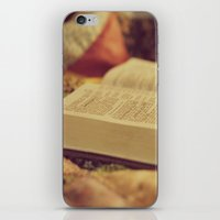 bible verses iPhone & iPod Skins featuring Bible by KimberosePhotography
