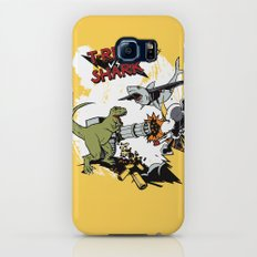 T-Rex VS Shark  Slim Case Galaxy S8