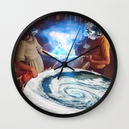 Cooking Hurricanes Wall Clock