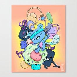 TIM BLU Canvas Print