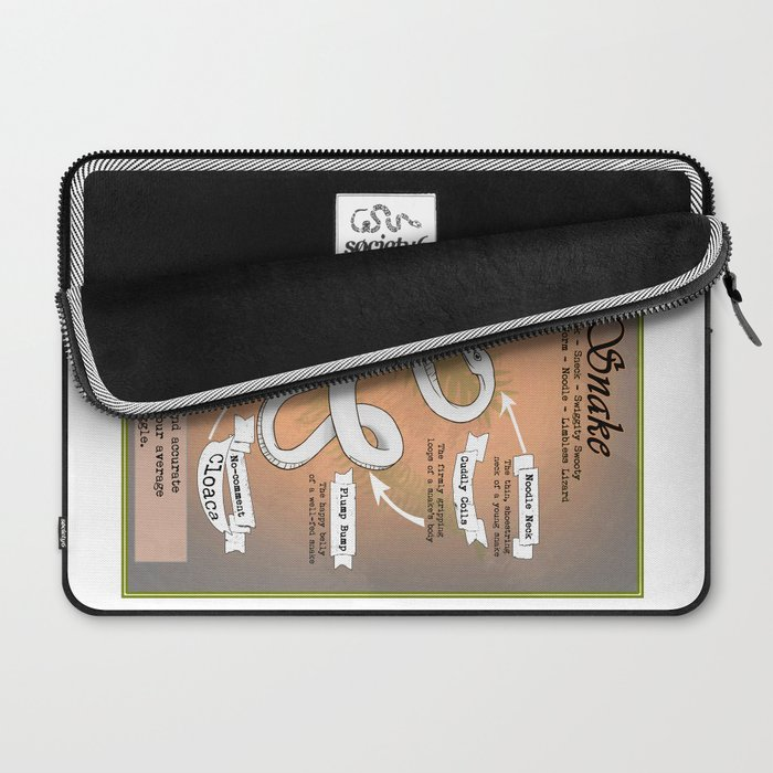 Snake Science Laptop Sleeve