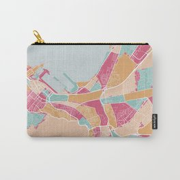 Cape Town map, South Africa Carry-All Pouch