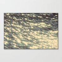 sparkles Canvas Prints featuring Sparkles  by Julia Kovtunyak