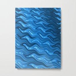 Choppy Waters Metal Print
