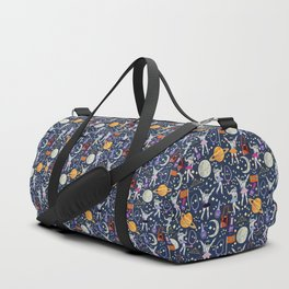 Dancing Across Galaxies Duffle Bag