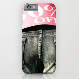 Fifty Percent Off iPhone Case