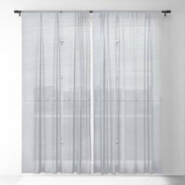 Light Industrial Sheer Curtain