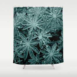 Raindrops III Shower Curtain