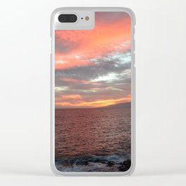 Cielo di fuoco. Clear iPhone Case