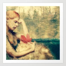 Memory of Autumns Past Art Print