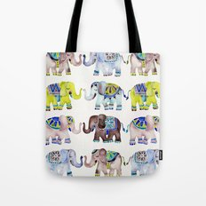 Elephant Collection – Cool Palette Tote Bag