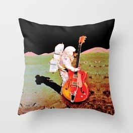 One Massive Strum Throw Pillow