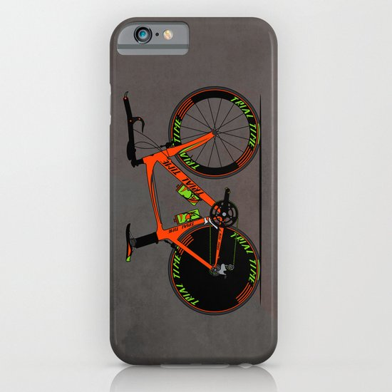 Time Trial Bike iPhone & iPod Case