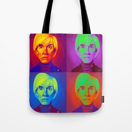 Celebrity Sunday - Andy Warhola on Andy Warhola Tote Bag