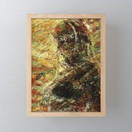 Phoenix in the Wind Framed Mini Art Print