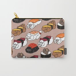 Sushi Poodle Carry-All Pouch