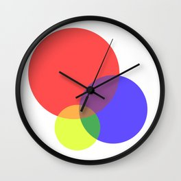 Colour Code Wall Clock