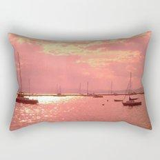 Red Lake Rectangular Pillow