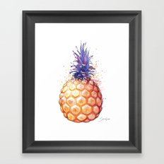 Fat Pineapple 3 Framed Art Print