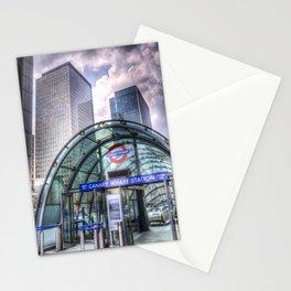 London Tube Station Stationery Cards