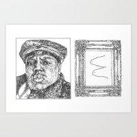 biggie smalls Art Prints featuring Biggie Smalls by Samantha Kardos