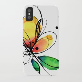 Ecstasy Bloom No.8 by Kathy Morton Stanion iPhone Case