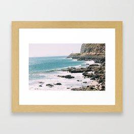 Highway 101 California Framed Art Print