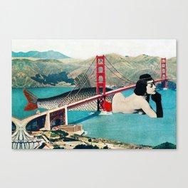 Mermaid Three Canvas Print