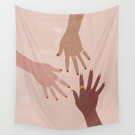 Love Is A Superpower Wall Tapestry
