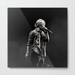 In Concert: Sheeran Metal Print