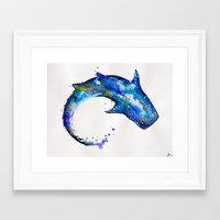 celestial Framed Art Prints featuring Celestial  by Marc Allante