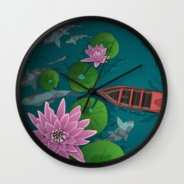 A moment of calm Wall Clock